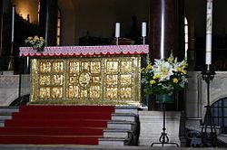 Altaar uit de Ambrosiuskerk te Milaan