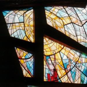 Glas in lood raam 3